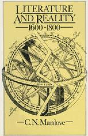 Literature and Reality, 1600–1800