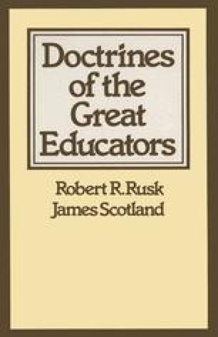 Doctrines of the Great Educators