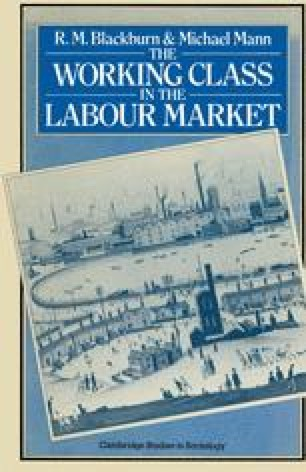 The Working Class in the Labour Market