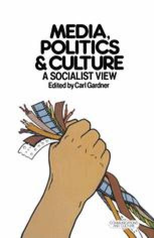 Media, Politics and Culture