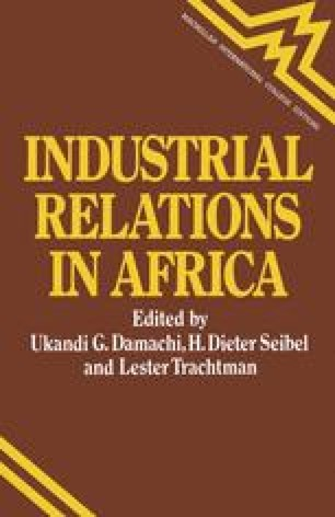 Industrial Relations in Africa