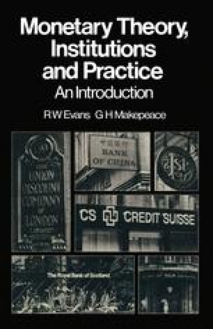 Monetary Theory, Institutions and Practice: An Introduction