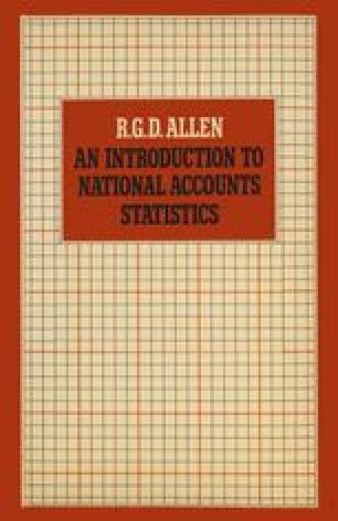 An Introduction to National Accounts Statistics