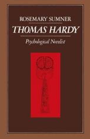 THOMAS HARDY: Psychological Novelist