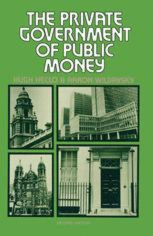 The Private Government of Public Money
