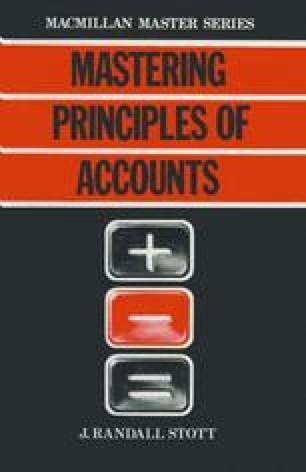 Mastering Principles of Accounts