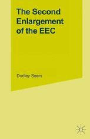 The Second Enlargement of the EEC