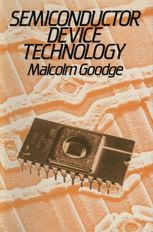 Integrated Circuit Technology | SpringerLink