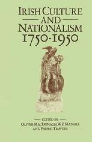 Irish Culture and Nationalism, 1750–1950