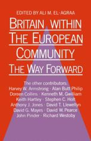 Britain within the European Community