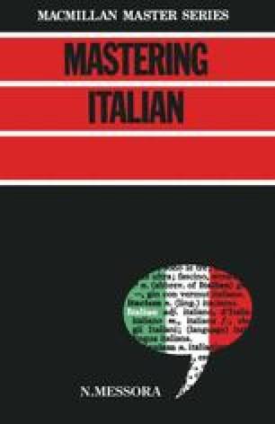 Mastering Italian