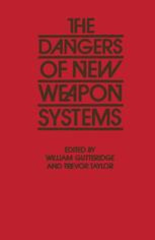 The Dangers of New Weapon Systems