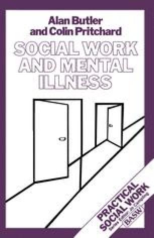 Social Work and Mental Illness