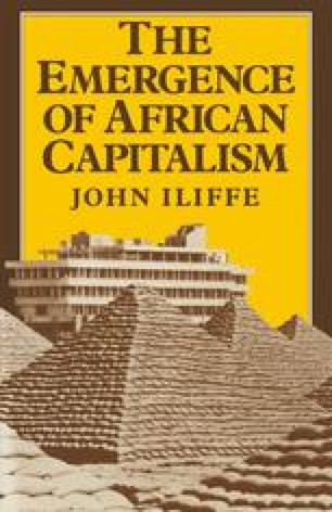 The Emergence of African Capitalism