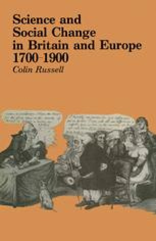 Science and Social Change in Britain and Europe 1700–1900