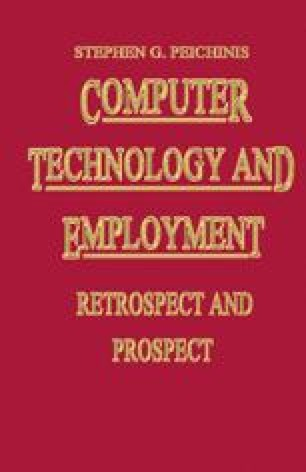 Computer Technology and Employment