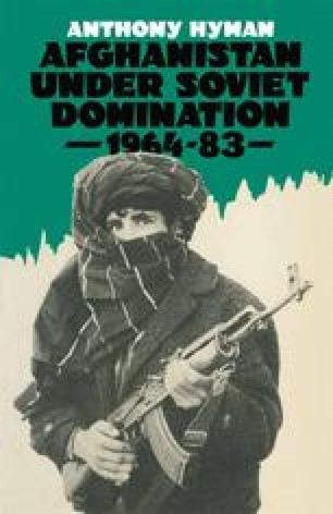 Afghanistan Under Soviet Domination, 1964–83