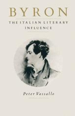 Byron: The Italian Literary Influence
