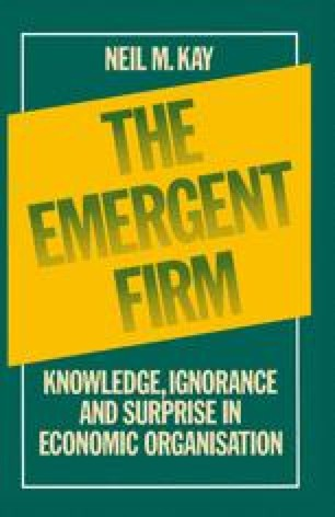 The Emergent Firm