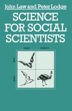 Science for Social Scientists
