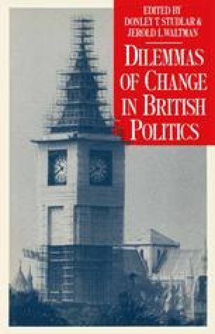 Dilemmas of Change in British Politics