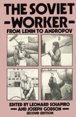 The Soviet Worker