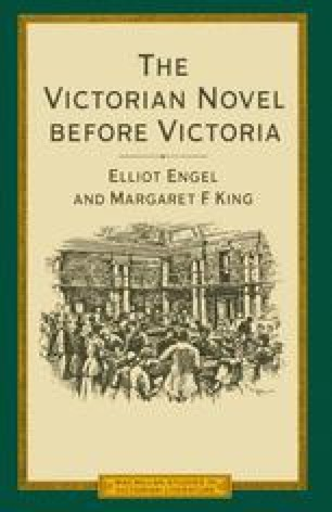 The Victorian Novel before Victoria