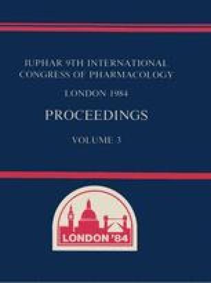 IUPHAR 9th International Congress of Pharmacology London 1984