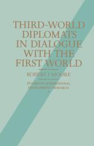 Third-World Diplomats in Dialogue with the First World