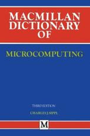 Macmillan Dictionary of Microcomputing