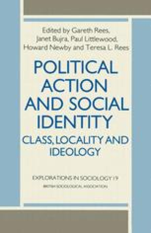Political Action and Social Identity