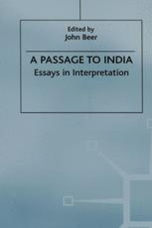 The Caves Of A Passage To India Springerlink