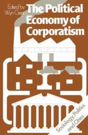 The Political Economy of Corporatism