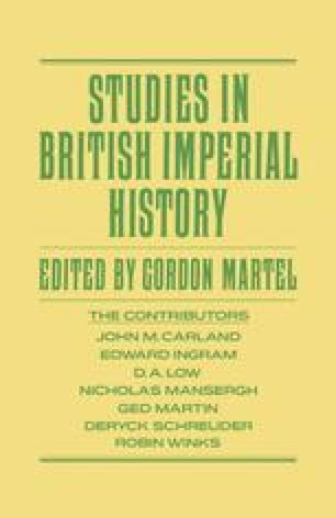 Studies in British Imperial History