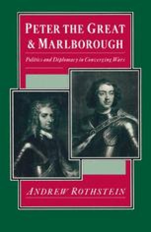 Peter the Great and Marlborough