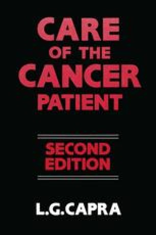 The Care of the Cancer Patient