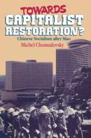 Towards Capitalist Restoration?