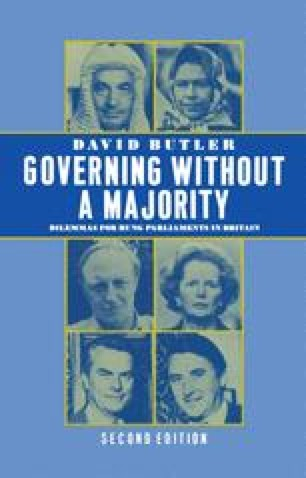 Governing without a Majority
