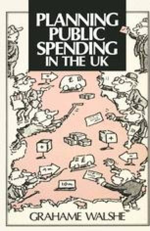 Planning Public Spending in the UK