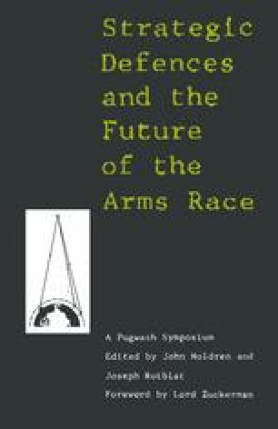Strategic Defences and the Future of the Arms Race