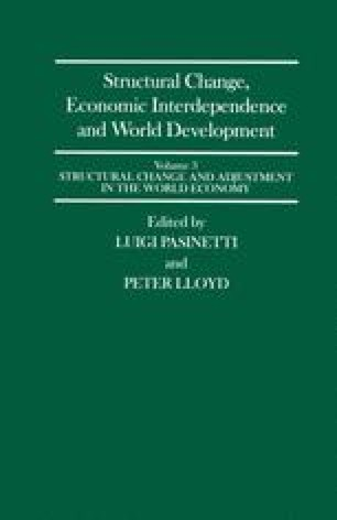 Structural Change, Economic Interdependence and World Development