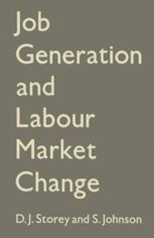 Job Generation and Labour Market Change