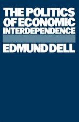 The Politics of Economic Interdependence