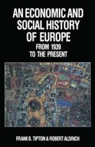 An Economic and Social History of Europe from 1939 to the Present