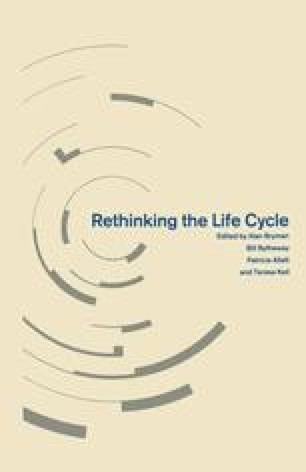 Rethinking the Life Cycle