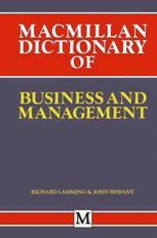 Macmillan Dictionary of Business and Management