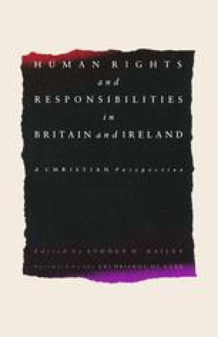Human Rights and Responsibilities in Britain and Ireland