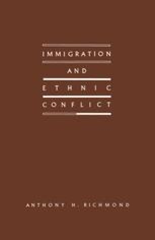 Immigration and Ethnic Conflict