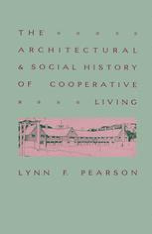 The Architectural and Social History of Cooperative Living