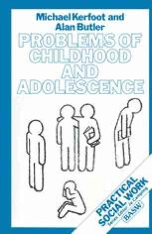 Problems of Childhood and Adolescence